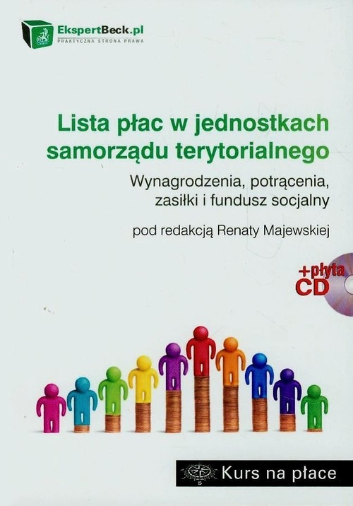 Lista płac w jednostkach samorządu terytorialnego + CD