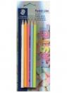 Ołówek Norica sześciokątny Pastel Line 2HB 5 sztuk
