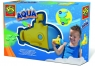 Zabawka do kąpieli:Łódź podwodna  do kąpieli z kolorowym śladem