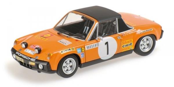 MINICHAMPS Porsche 914/6 #1 Larrousse