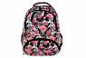 Plecak szkolny Stright Flamingo pink & black BP-07