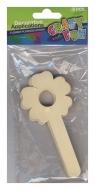 Aplikacje dekoracyjne patyczki kwiatki 6 sztuk