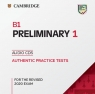 B1 Preliminary 1 for the Revised 2020 Exam Audio CDs