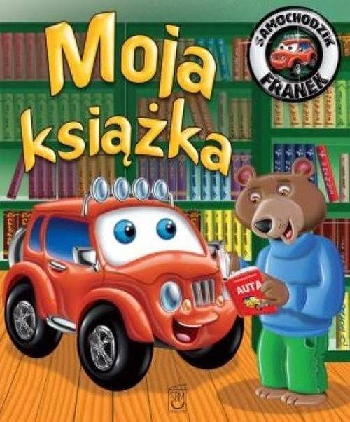 Samochodzik Franek Moja Książka Wójcik Elżbieta