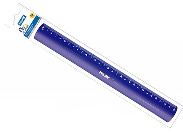 Linijka elastyczna Milan ACID 30 cm niebieska (353801)