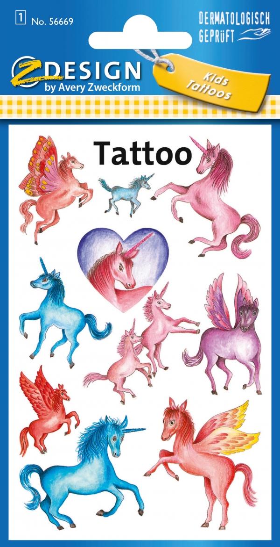 Tatuaże - Jednorożce (56669)