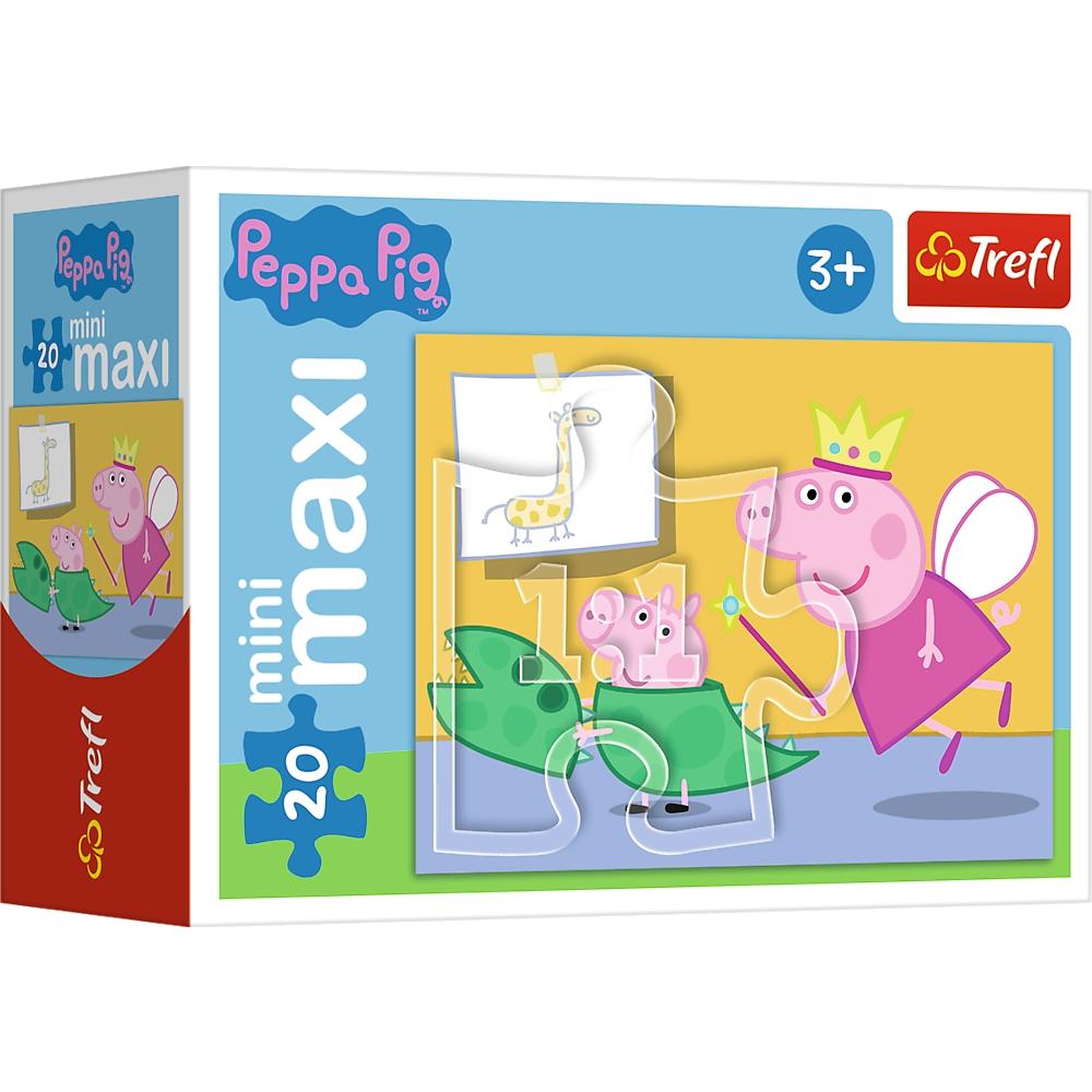 Puzzle miniMaxi 20: Zabawy Świnki Peppy 1 (56000)