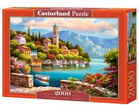 Puzzle Village Clock Tower 2000 (C-200696)