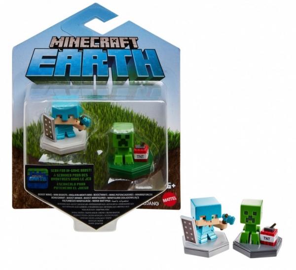 Figurki Minecraft doładowujące 2-pak 2 (GKT41/GKT43)