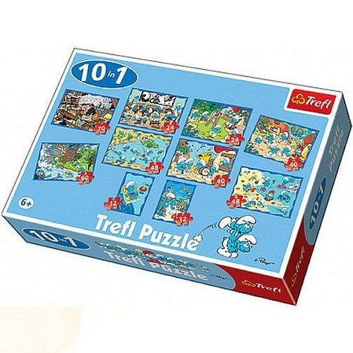 Smerfy Puzzle 10w1 (90169)