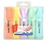 Zakreślacze pastelowe etui - 5 kolorów