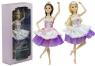 Lalka Baletnica z Koroną 30cm Zginane Nogi