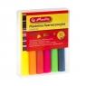 Plastelina Herlitz, 6 kolorów - fluorescencyjna
