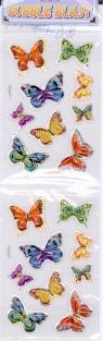 Naklejka plastikowa motyle