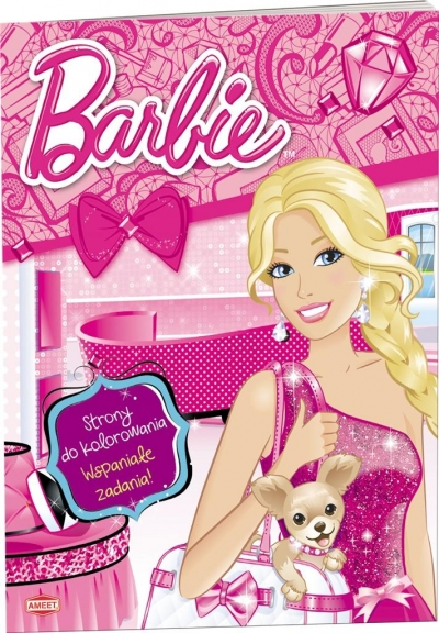 Barbie. Strony do kolorowania praca zbiorowa