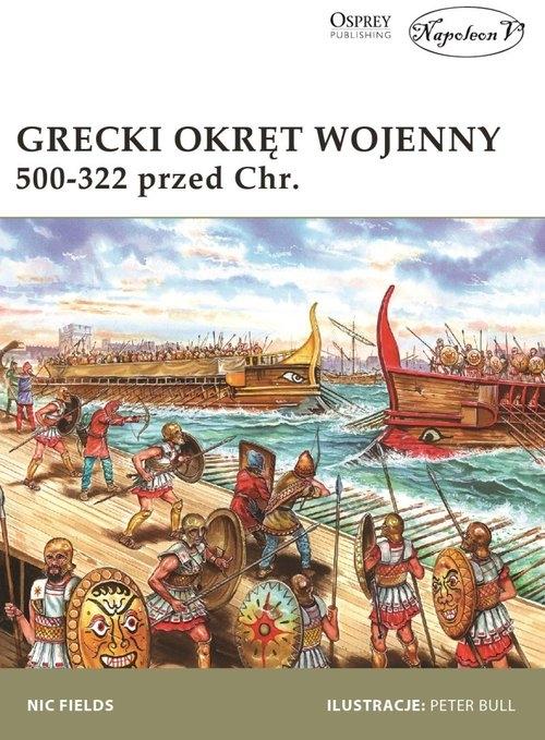 Grecki okręt wojenny 500-322 przed Chr. Fields Nic
