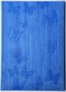 Kalendarz tygodniowy B5 błękitny Motyle