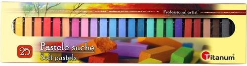 Pastele suche 25 kolorów