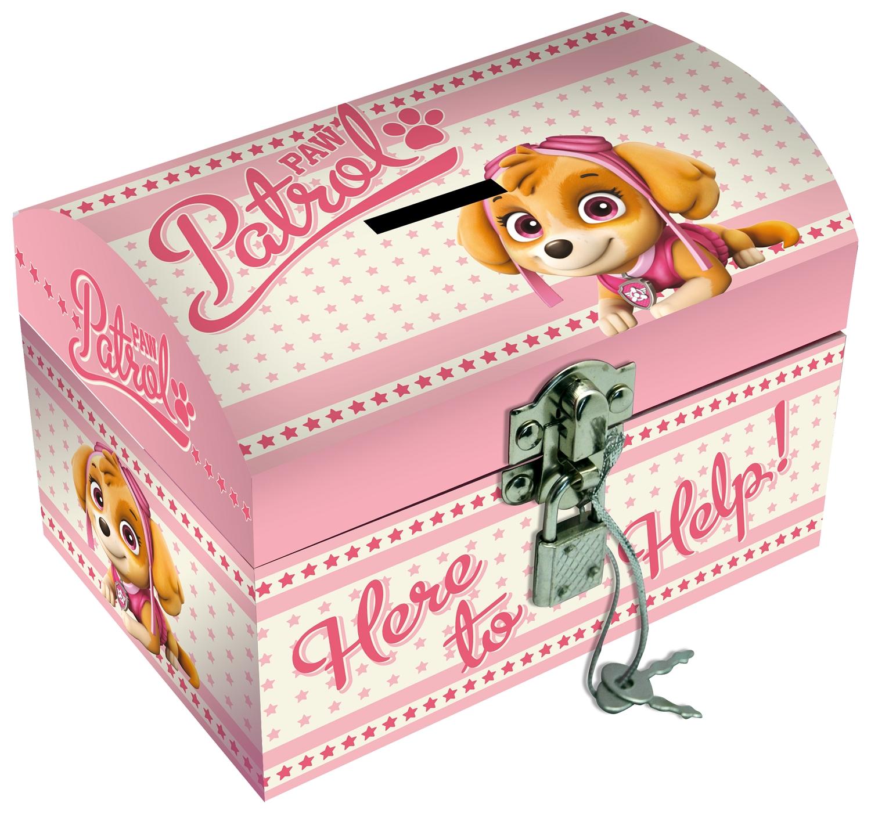 Pudełko na biżuterię z kłódką - Psi Patrol (PW16337)