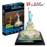 Puzzle 3D led statua wolności (306-01069)