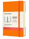 Kalendarz 2021 Dzienny 12MP tw. cadmium orange