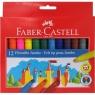 Flamastry zamek Jumbo 12 kolorów (554312)