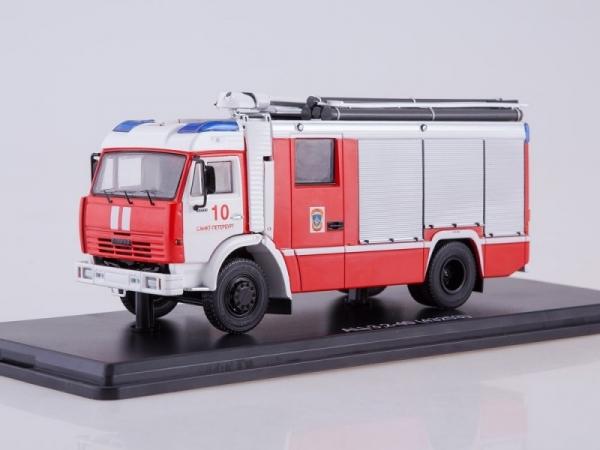 Fire Engine AC-3,2-40 (KAMAZ-43253) Saint Petersburg (SSM1269)