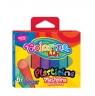 Plastelina Colorino Kids brokatowa, 6 kolorów (42697PTR)