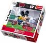 Puzzle 3D Myszka Miki Najlepszy Piłkarz 72  (35569)