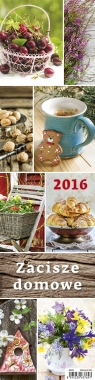 Kalendarz 2016 Zacisze domowe planer