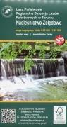 Nadleśnictwo Żołędowo mapa turystyczna 1:30 000