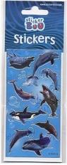 Naklejki 66X180 S-BOO delfiny 237308