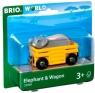 Brio World: Słoń w wagoniku (63396900)Wiek: 3+