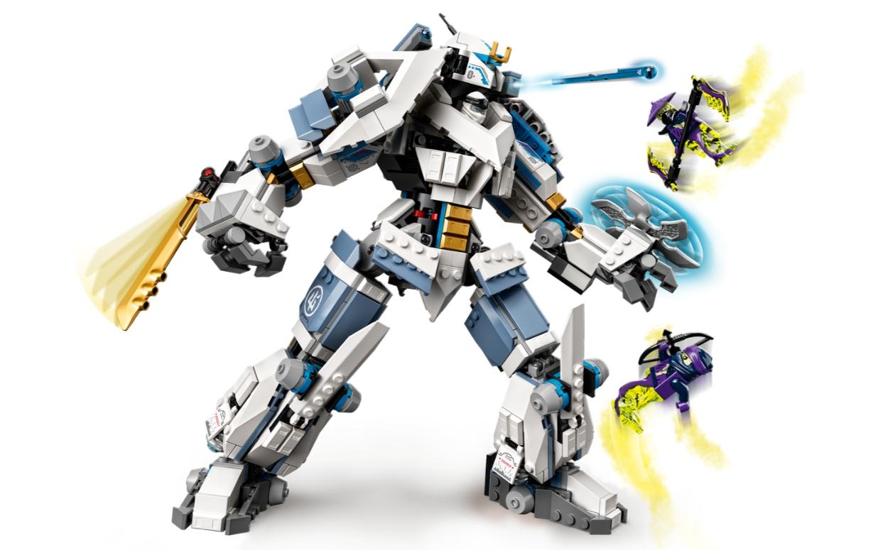 Lego Ninjago: Starcie tytanów Mech (71738)