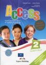Access 2 Student's Book + ieBookPodręcznik przygotowujący do egzaminu Evans Virginia Dooley Jenny