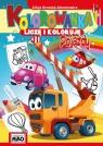 Kolorowanka Liczę i koloruję Pojazdy
