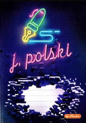Zeszyt w linię, 60K/A5 J.polski