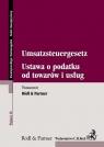 Ustaw o podatku od towarów i usług Umsatzsteuergesetz