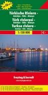 Turcja - Riwiera Antalya-Side-Alanya 1:150 000