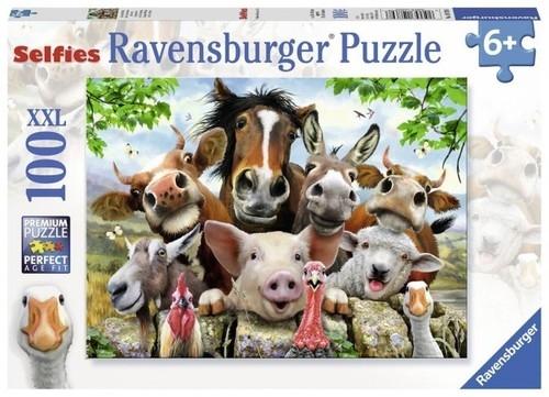 Puzzle Wiejskie selfie 100 (107698)