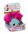 Bunnies Friends: Pluszowy ptaszek z magnesem - niebiesko-różowy (BUN