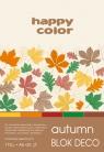 Blok deko autumn A5 170g 20ark 5 kolorów