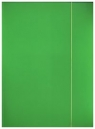 Teczka z gumką A4 Pantone Green 5 sztuk