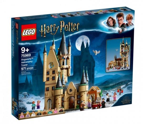 Klocki Harry Potter Wieża astronomiczna w Hogwarcie (75969)