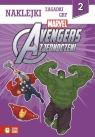 Avengers Zjednoczeni Część 2 Naklejki zagadki gry (2699)