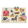Farma zwierząt domowych - puzzle E1402