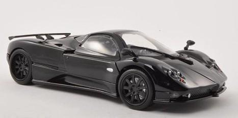 MOTORMAX Pagani Zonda F (black/carbon)