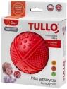 Tullo, Piłka sensoryczna, 4 faktury, czerwona (469)