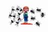 Dziwaczne muchy i przerażające pająki