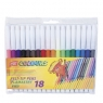 Flamastry 18 kolorów